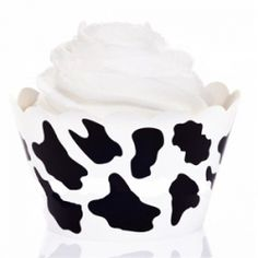 Cow Print Cupcake Wrappers