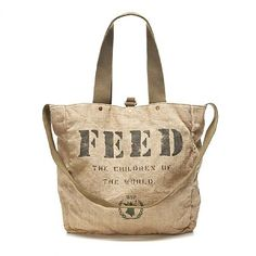 The Feed 2 gym bag is a perfect concept. You get to give back and carry a  super cute and functional tote  692056a3a6f77