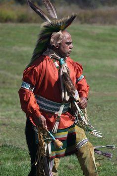 Nanticoke Lenni-Lenape chief Mark Gould. I love how humble he is. A good man and leader.