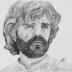 Game of Thrones - Pencil Portrait Tyrion Lannister