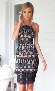 Stylish Halter Backless Sexy Dress - Stella La Moda