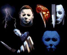 Michael Myers Collage #Halloween