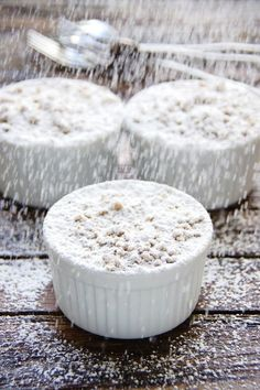 Cinnamon Apple Crumble is an easy, gluten free recipe for a cosy, warming and sweet treat - king of winter desserts, perfect on a cold day.