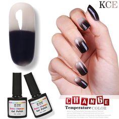 2017 New UV Nail Polish Temperature Changing Color Nail Gel Gradient Nail Polish Soak-off UV Gel Polish Varnish Nail Polish