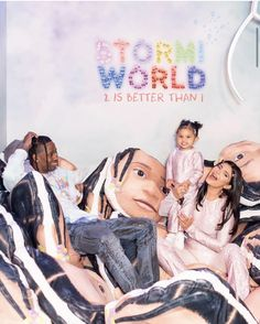 Travis Scott and Kylie Jenner reunited over the weekend to throw their daughter, Stormi Webster, and epic birthday party.