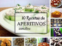 10 Recetas de aperitivos en no te lo puedes perder!! Pincha en este enlace o en la foto para ver la publicación completa ahora!!
