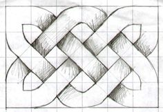 Simple Repeating Patterns Draw knotgrid