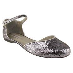 sapatilha de glitter, parecida com essa, vi na Baetta.