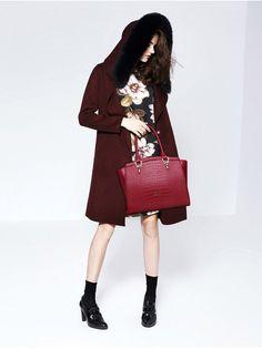 CLUCI Fashion Designer Brand High Quality Shoulder Bags Genuine Leather Bags Crocodile Snake Skin Women Handbag Ladies Tote Bag