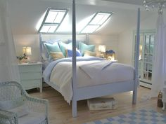 Mural of Beachy Bedroom Ideas