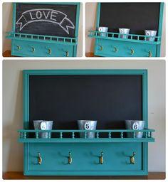 Chalkboard  - Hook - Shelf