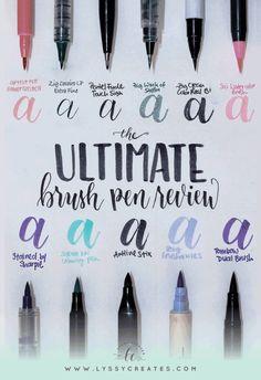 Ultimate Brush Pen Review