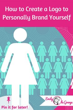 [Blog Design Secrets #3] How to Create a Logo to Personally Brand Yourself...  This training in my Blog Design Secrets series will show you how to SIMPLY create a personally branded LOGO unique to you.