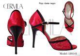 Cervila - Rojo Ribete Negro (fully leather)