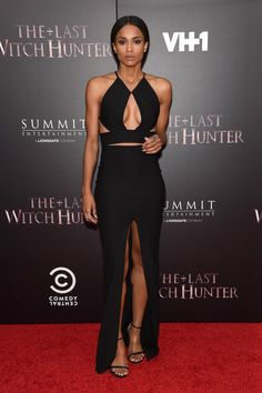 "Ciara, NY Premiere of ""The Last Witch Hunter"" at AMC Loews Lincoln Squar, The Solace London brand"