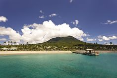 The truly glamorous have turned their backs on the high-octane spritz of other hotspots and slipped off to Nevis