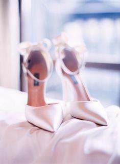 Featured Photographer: Le Secret d'Audrey Photography; Wedding shoes ideas.