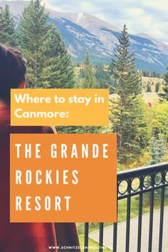 Hello our adventurous friends, we had the best getaway exploring the town of Canmore. We got invited to stay a night at the beautiful Grande Rockies Resort whi Hotel Bnb, Western Canada, Poutine, British Columbia, This Is Us, Road Trip, Hotels, Hiking, Spaces