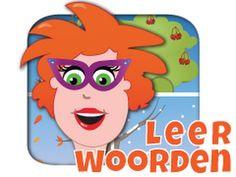 Juf Jannie - Seizoenen - woordjes leren app