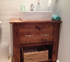 DIY Bathroom Vanity Base :: Hometalk