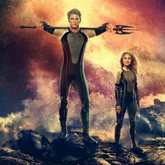 FINNICK WITH HIS TRIDENT!!!!! SOMEONE SEND HELP!!!!!!