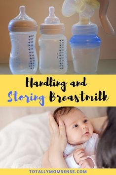 Pumping takes hard work and it is important to store breastmilk safely so that it can be used in the future. Find effective tips on storing breastmilk. Breastfeeding Classes, Breastfeeding Positions, Breastfeeding And Pumping, Breastmilk Bags, Breastmilk Storage, Kids And Parenting, Parenting Hacks, Pumping At Work, Baby Feeding