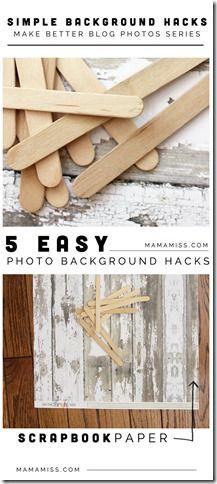 Simple Background Hacks | @mamamissblog #rockinartmoms #phototips