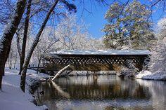 Poole's Mill Covered Bridge....Forsyth County, Georgia