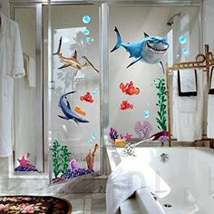 wall decals for kids rooms boys skateboard : FINDING NEMO Wall Decals Sticker Decor Removable Vinyl Nursery Kids Room i8 >>> You can find out more details at the link of the image. (This is an affiliate link and I receive a commission for the sales)