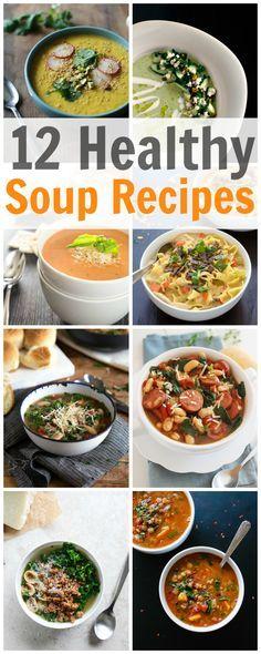 12 healthy soup recipes