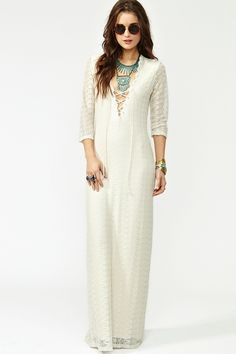 Revolution Maxi Dress in Clothes Dresses at Nasty Gal ($200-500) - Svpply