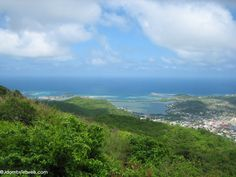 Pic Paradis is the highest elevation in St. Maarten. Enjoy hiking, stunning views, and zipline tours at FlyZone. #stmaarten #vacation #resort