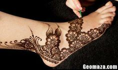 Latest Mehndi Design For Bridals 2013