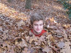 - Everywhere, it's raining leaves. So are we going to rake all those fallen leaves to the curb to clog our storm drains and choke our landfills? No, no, no! Intelligent and responsible homeowners save their leaves to improve the garden and protect the environment.