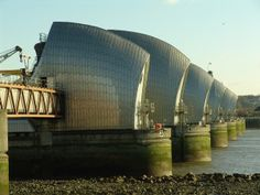 Thames Barrier, Rendel, Palmer and Tritton   London   United Kingdom   MIMOA