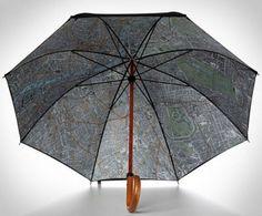 Map of London Umbrella  - http://www.gadgets-magazine.com/map-london-umbrella/
