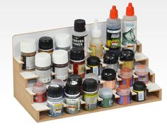 The Paints Module 36mm has twenty six holes for paints or other bottles with a diameter of 36mm. Please Note! This Module can only be used in the top row of the Modular Workshop System. The Module is designed to connect with other products of the Hobbyzone Modular Workshop System. D imensions : 30cm x 15cm x 15 cm Main feature: 26 holes for bottles with a diameter of 36mm. Use the supplied magnets to connect with other modules. You...