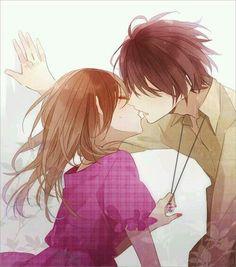 Image in Anime-Manga Couple Couple Manga, Anime Love Couple, I Love Anime, Couple Art, Anime Cupples, Kawaii Anime, Anime Boys, Yandere, Anime Bisou