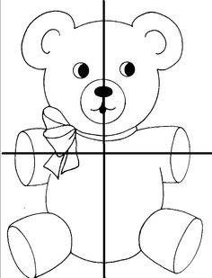 beren puzzel 4 Teaching Kindergarten, Preschool Classroom, Preschool Worksheets, Sudoku, Llama Arts, Bear Theme, Nursery School, Crochet Animals, Kids Education