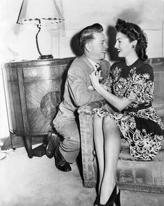 Mickey Rooney and wife Ava Gardner