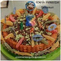 Torta merenda dinosauri  enzamariablog.wordpress.com  Www.mijnitaliaanserecepten.nl  www.facebook.com / enzamariablog  www.facebook.com / cucina siciliana creativa e degli avanzi  www.facebook.com / ricette alla siciliana