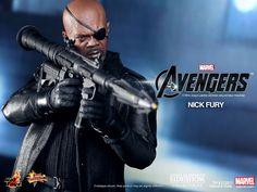 Hot Toys Nick Fury - Marvel The Avengers