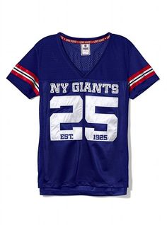Victoria's Secret PINK® New York Giants Bling Jersey #VictoriasSecret http://www.victoriassecret.com/pink/new-york-giants/new-york-giants-bling-jersey-victorias-secret-pink?ProductID=73478=OLS?cm_mmc=pinterest-_-product-_-x-_-x