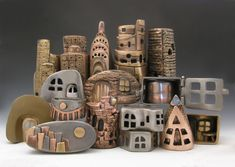 Ring City, base metal clays - Hadar Jacobson
