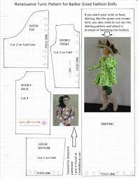 Image result for free printable sewing patterns for 18 inch doll clothes
