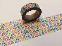 Washi Masking Tape Bunt Einladungskarten