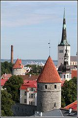 Tallinn, the place, where they invented Skype.