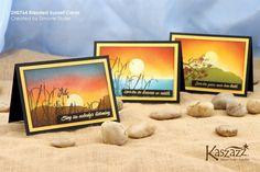 2H0764 Blended Sunset Cards