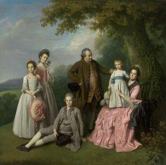 The Athenaeum - The Pybus Family (Sir Nathaniel Dance-Holland - )