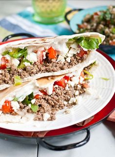 30 Minute Ground Beef Gyros from Neighborfoodblog.com